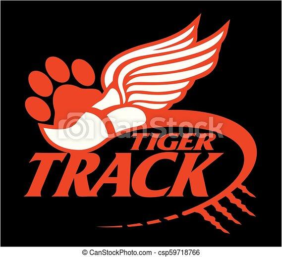 tiger track - csp59718766
