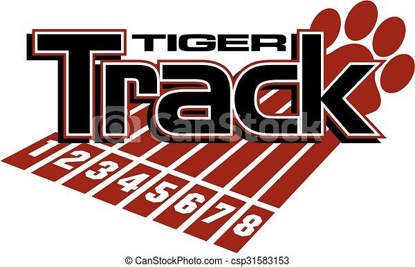 tiger track - csp31583153