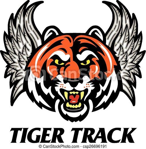 tiger track - csp26696191