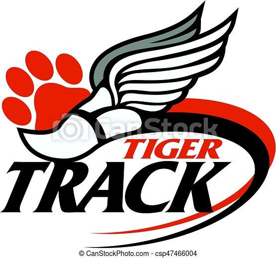 tiger track - csp47466004