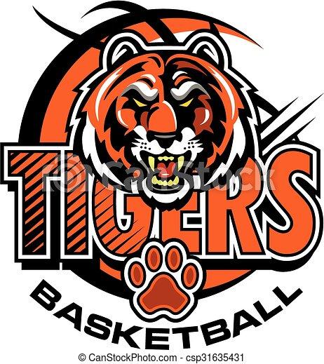 tigers basketball - csp31635431