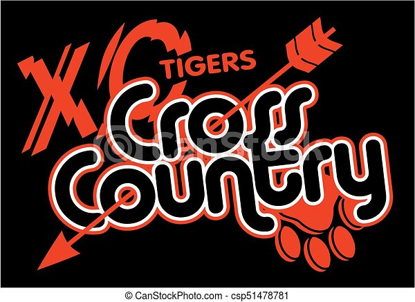 tigers cross country - csp51478781