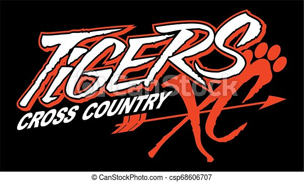 tigers cross country - csp68606707
