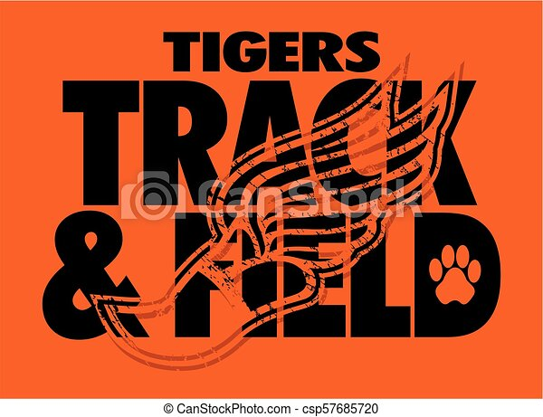 tigers track and field - csp57685720