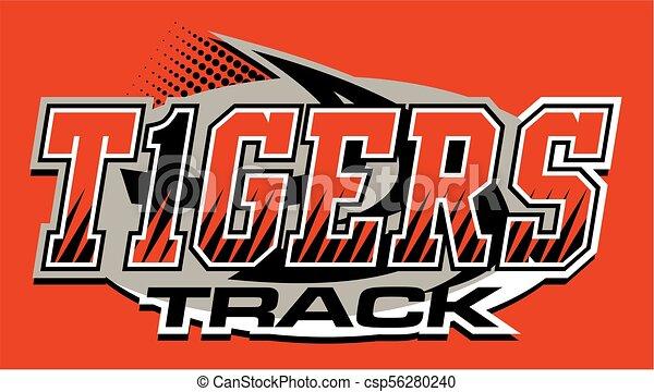 tigers track - csp56280240