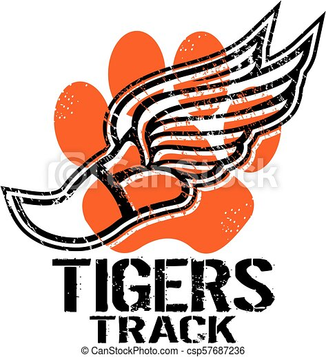 tigers track - csp57687236