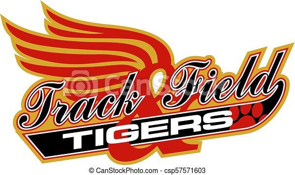 tigers track & field - csp57571603