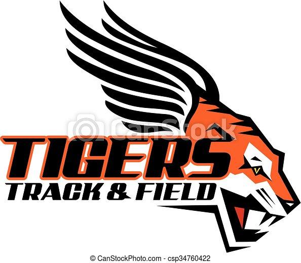 tigers track - csp34760422