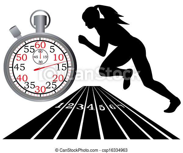 track and field - csp16334963