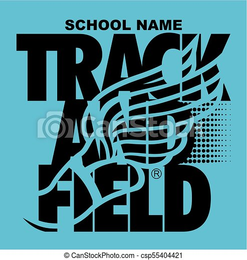 track and field - csp55404421