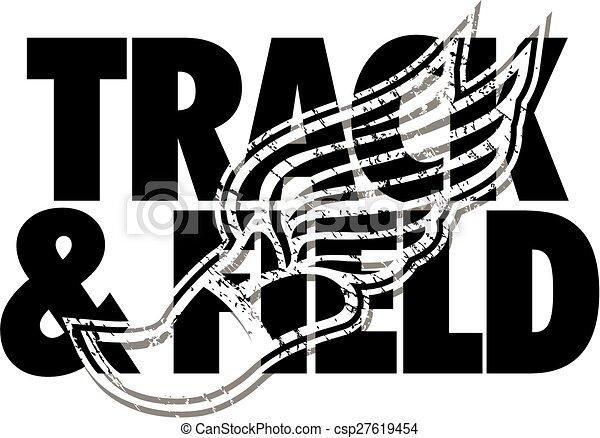 track & field design - csp27619454