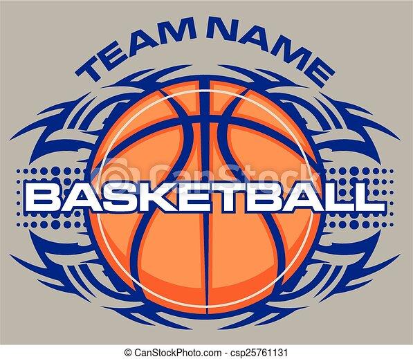 tribal basketball - csp25761131