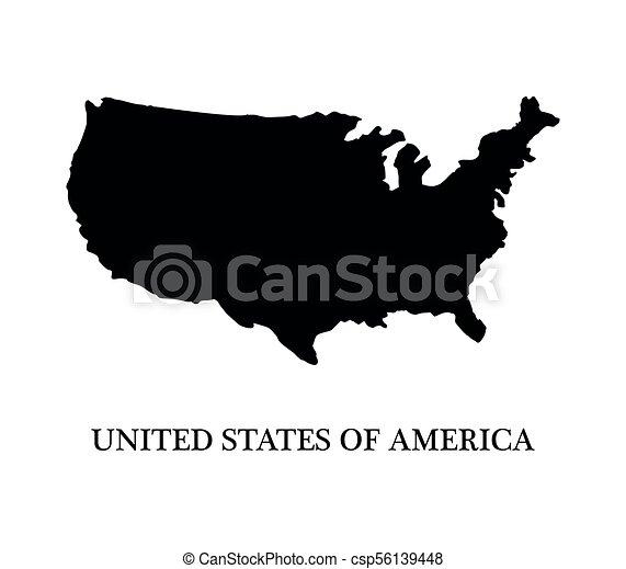 United States map - csp56139448