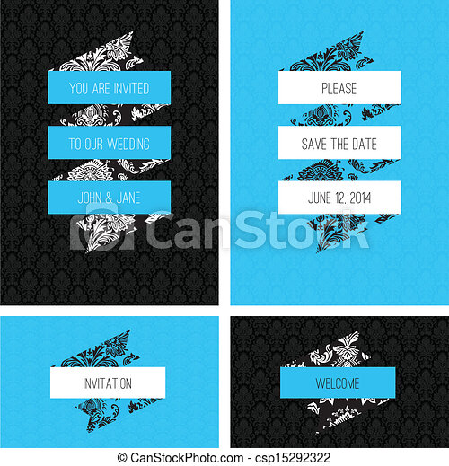 Vector Banner and Scroll Frames - csp15292322