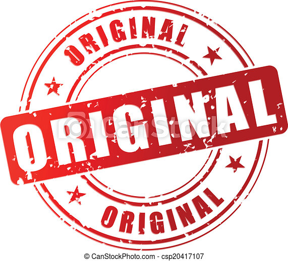 Vector original stamp - csp20417107
