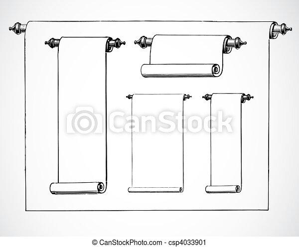 Vector Scroll Set - csp4033901
