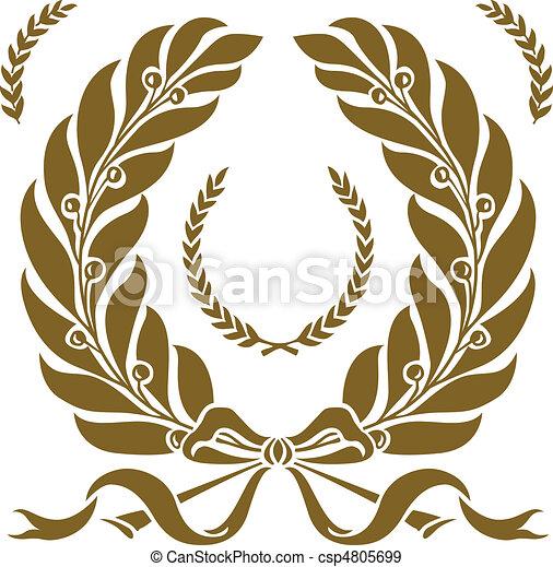 Vector Wreath Set - csp4805699