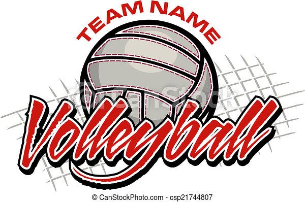 volleyball team design - csp21744807