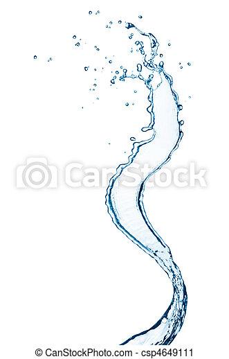 water splash - csp4649111