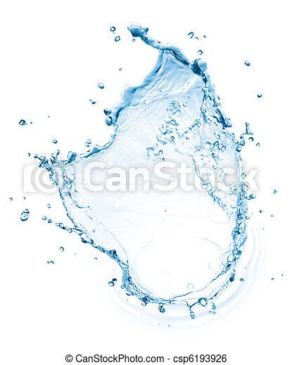 water splash - csp6193926