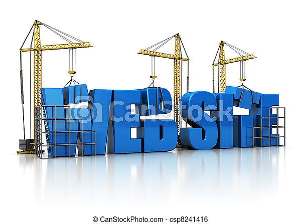 website building - csp8241416