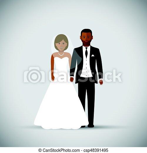 Wedding couple - csp48391495