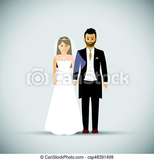 Wedding couple - csp48391499