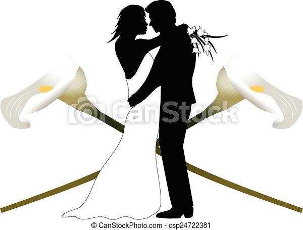 WEDDING COUPLE - csp24722381