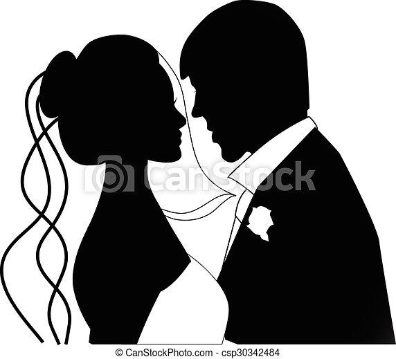 wedding couple - csp30342484