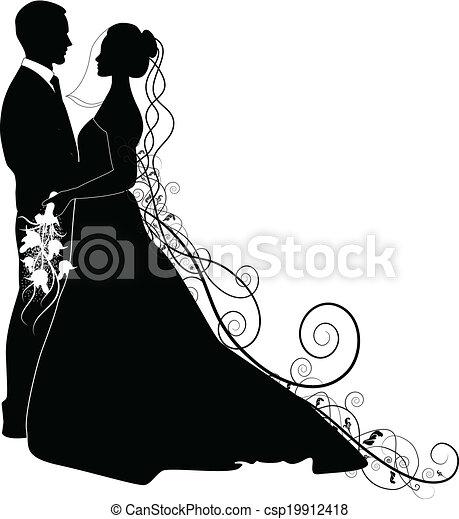 WEDDING COUPLE - csp19912418