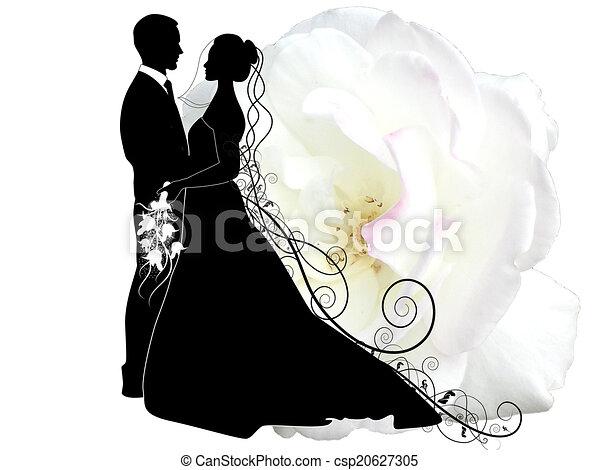 WEDDING COUPLE - csp20627305