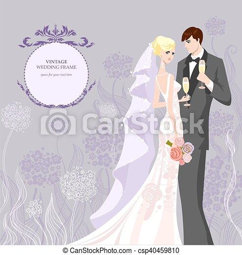 Wedding invitation - csp40459810