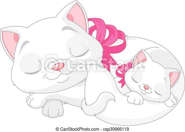 White Cats - csp30666119