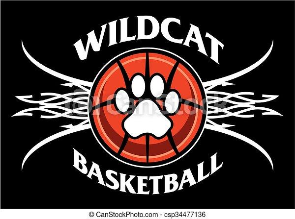 wildcat basketball - csp34477136