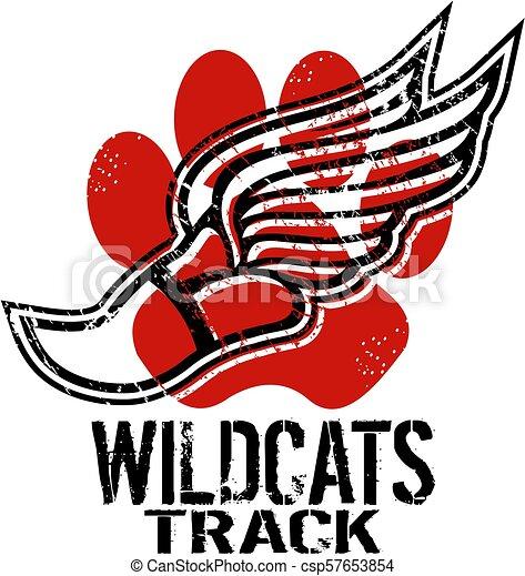 wildcats track - csp57653854