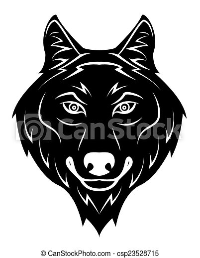wolf howling - csp23528715