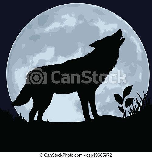 Wolf - csp13685972